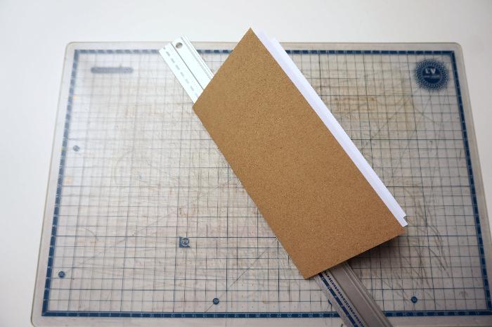 Traveler's Notebook - carnet de voyage-Un carnet