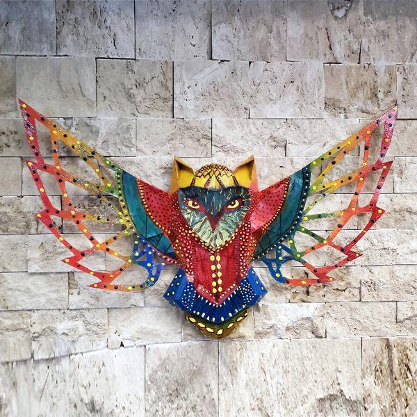 Assemble ta sculpture murale de hibou-Personnaliser la Sculpture