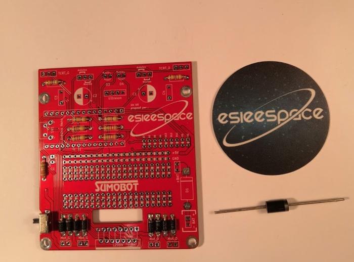 Construisez votre robot Sumobot v5.2-Soudage de la diode de puissance