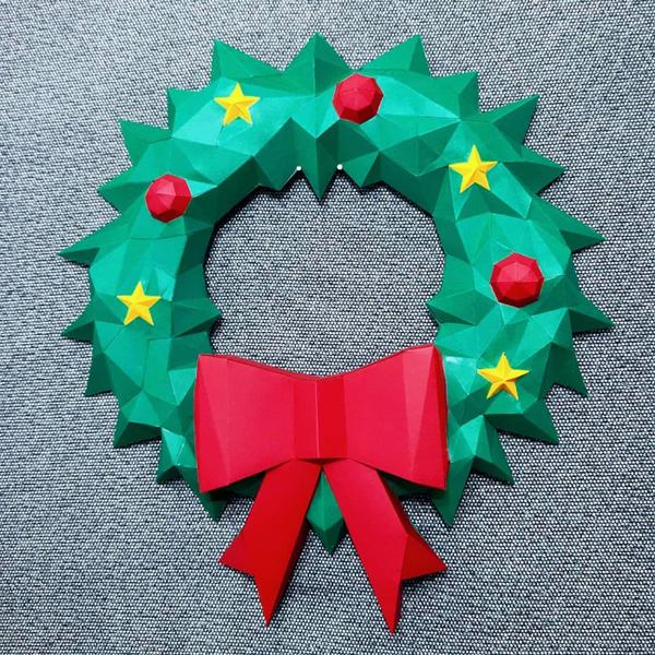 DIY déco de Noël en papier-La personnalisation