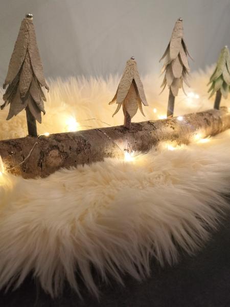 Centre de table Noël -Place à la fête 🎄
