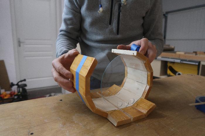 Créer une mangeoire barrique-L'assemblage