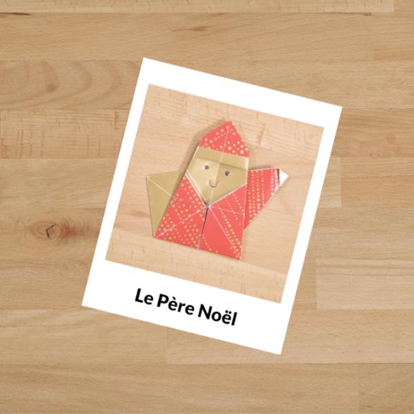 Décorations de Noël en Origami-