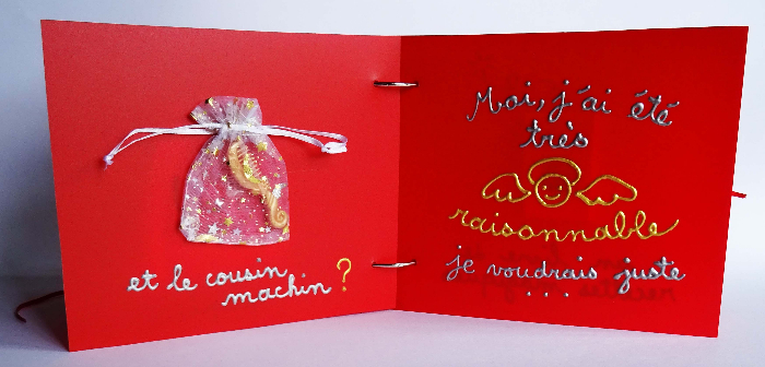 """Livre tactile """"Bientôt Noël""""-"""