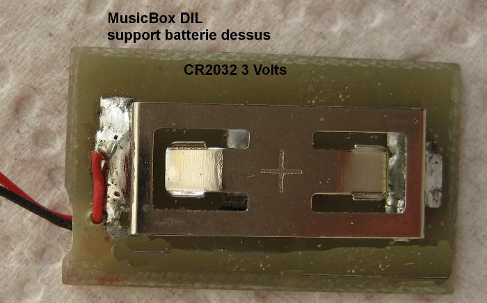 Boîte à Musique PIC10F202-CONSTRUCTION