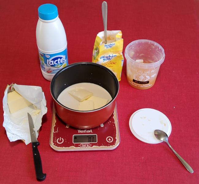 Un pain d'épice moelleux-Préparer la partie liquide