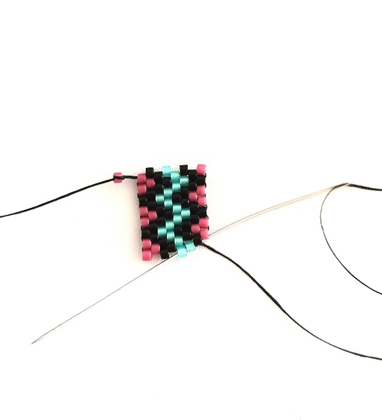 Bracelet ZigZag en Perles Miyuki-Les diminutions