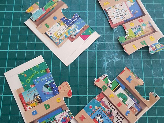 Chasse au trésor - 4 ans et plus-1ère étape : les pièces du puzzle