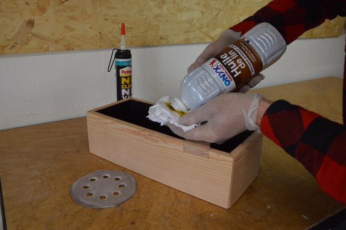 Fabriquer un bac aromatique-La protection