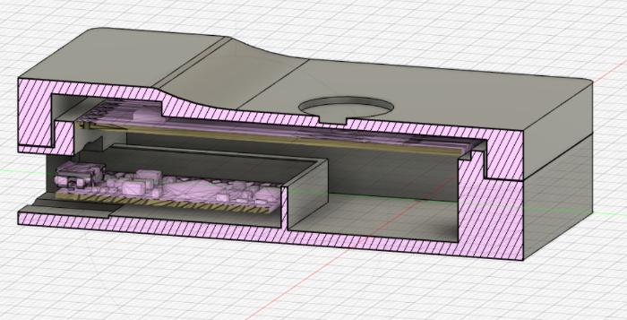 Boitier RFID Secure-Importation de modèles 3D et finallisation de la boite