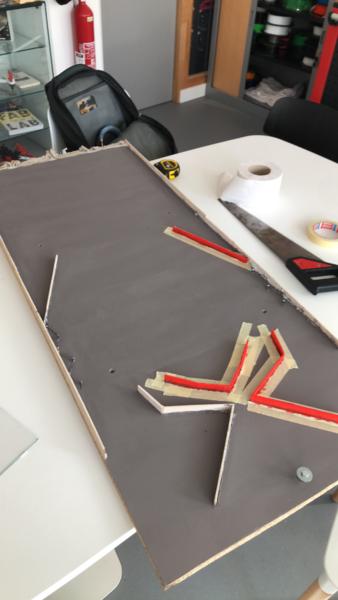 Créer le coffre du jeu-Peinture des petites pièces de bois