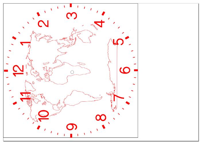 Création de l'horloge en bois Dingo'clock-Création des planches à assembler sur Inkscape