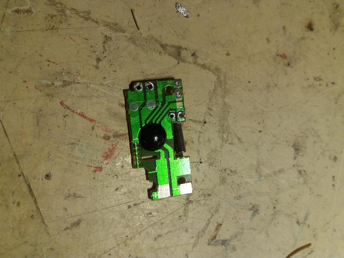 Partie électronique de la Dingo'clock-Interruption du circuit du socle de la bobine