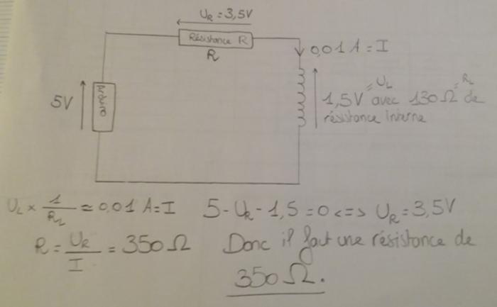 Partie électronique de la Dingo'clock-Quelle résistance choisir ?