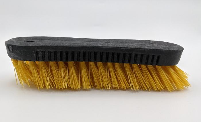 Robot Brosse (à faire en famille)-Courber les poils de la brosse