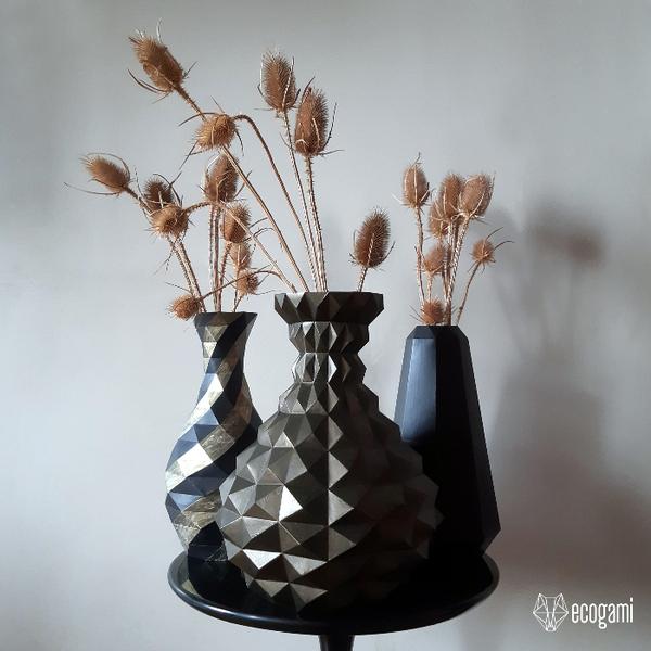 Assemble un vase en papier-Personnaliser la Sculpture