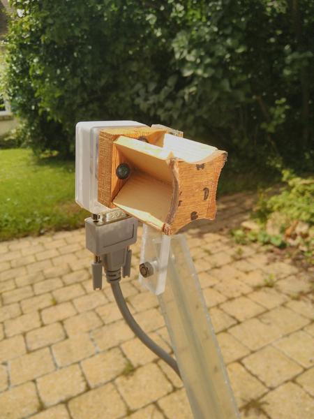 Héliostat - Lumière et Chauffage solaire par miroir suiveur-Réaliser le capteur de direction
