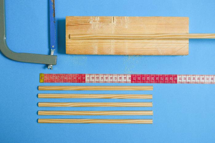Fabriquer un sac en bois-Préparation des éléments