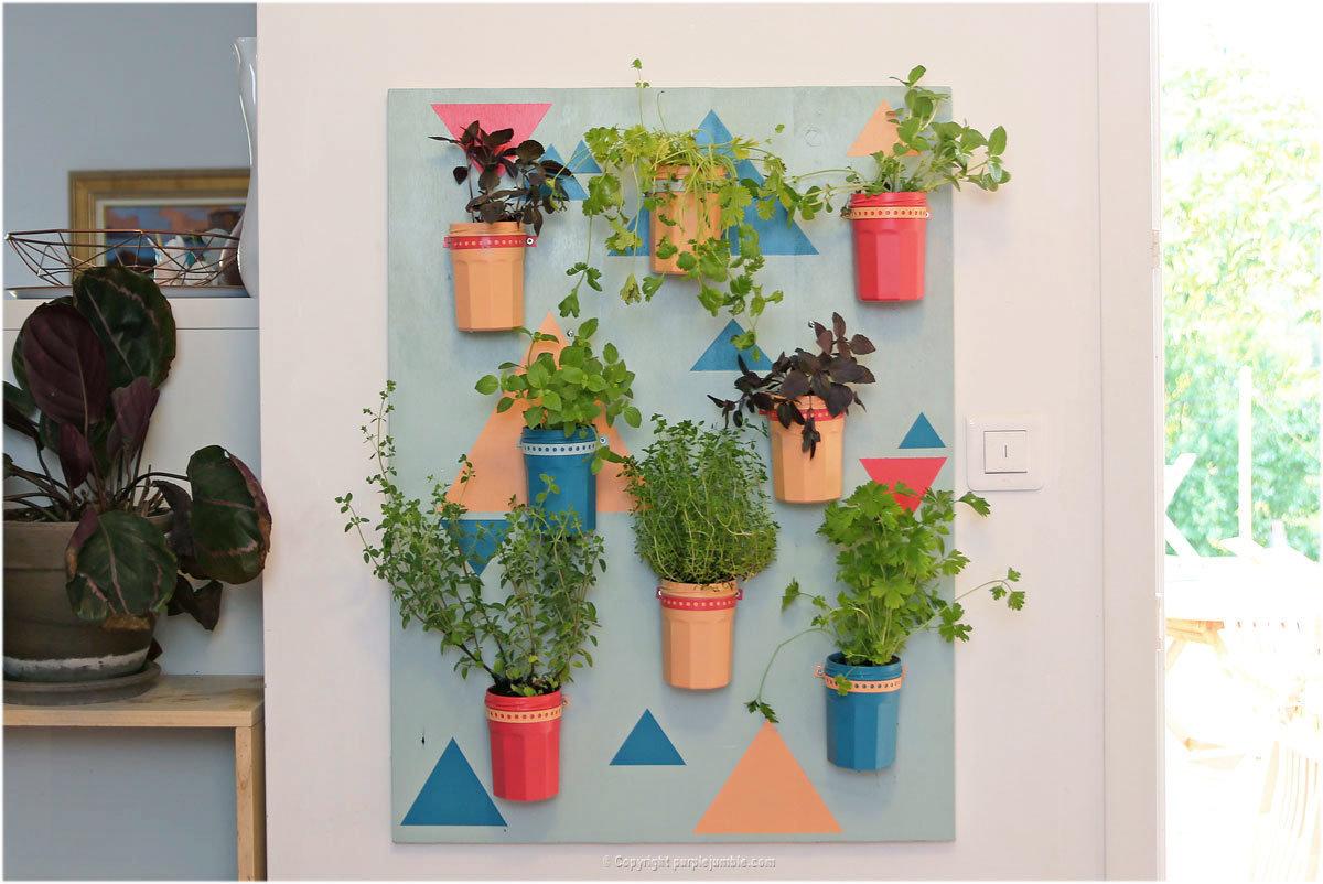 Plante Sur Les Murs diy couleurs et senteurs : un mur de plant | oui are makers