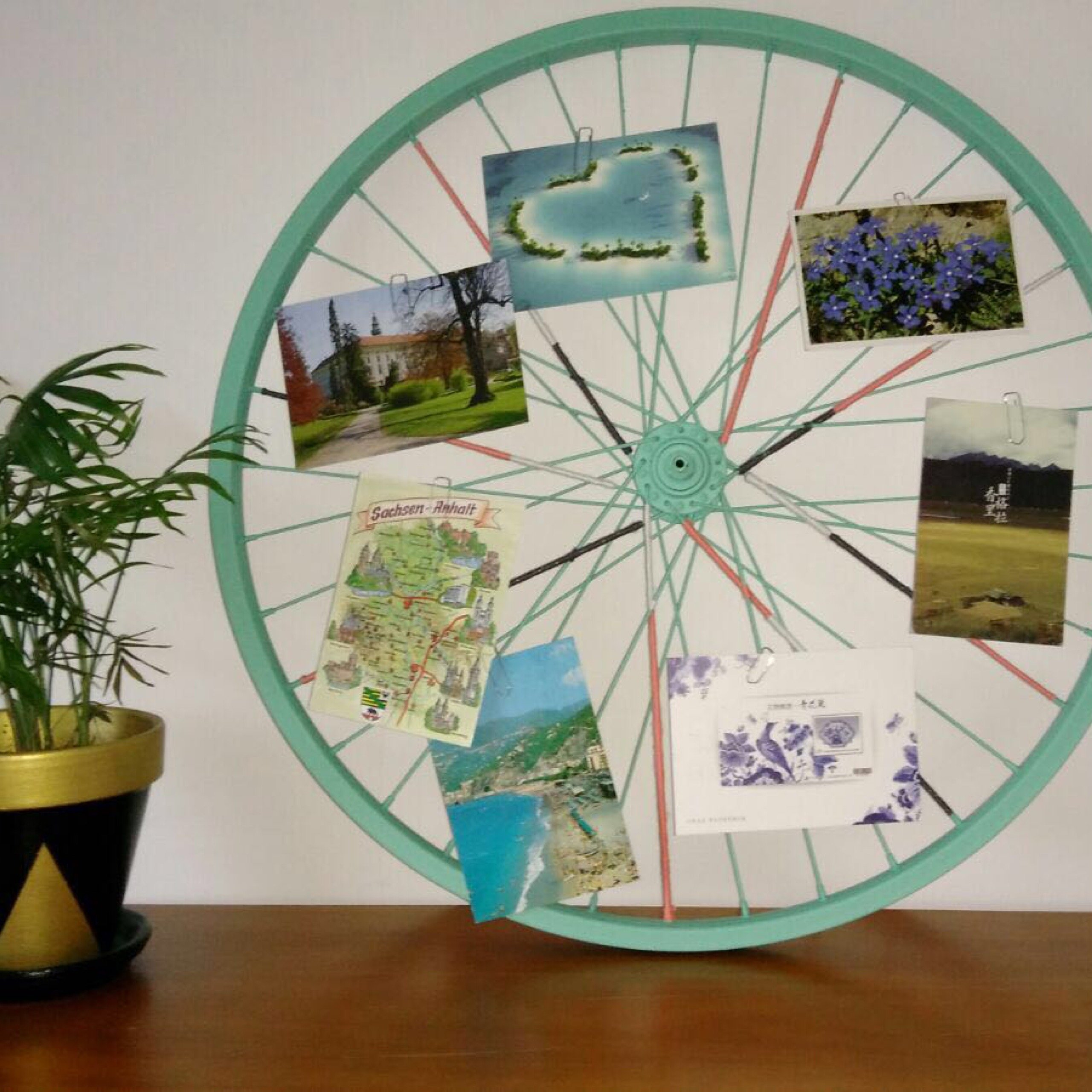 Fabriquer Un Pele Mele transformer une roue de vélo en pêle-mêle | oui are makers