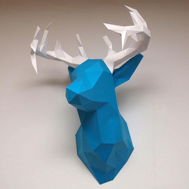 Audacieuse Sculptures en papier   Oui Are Makers OU-65