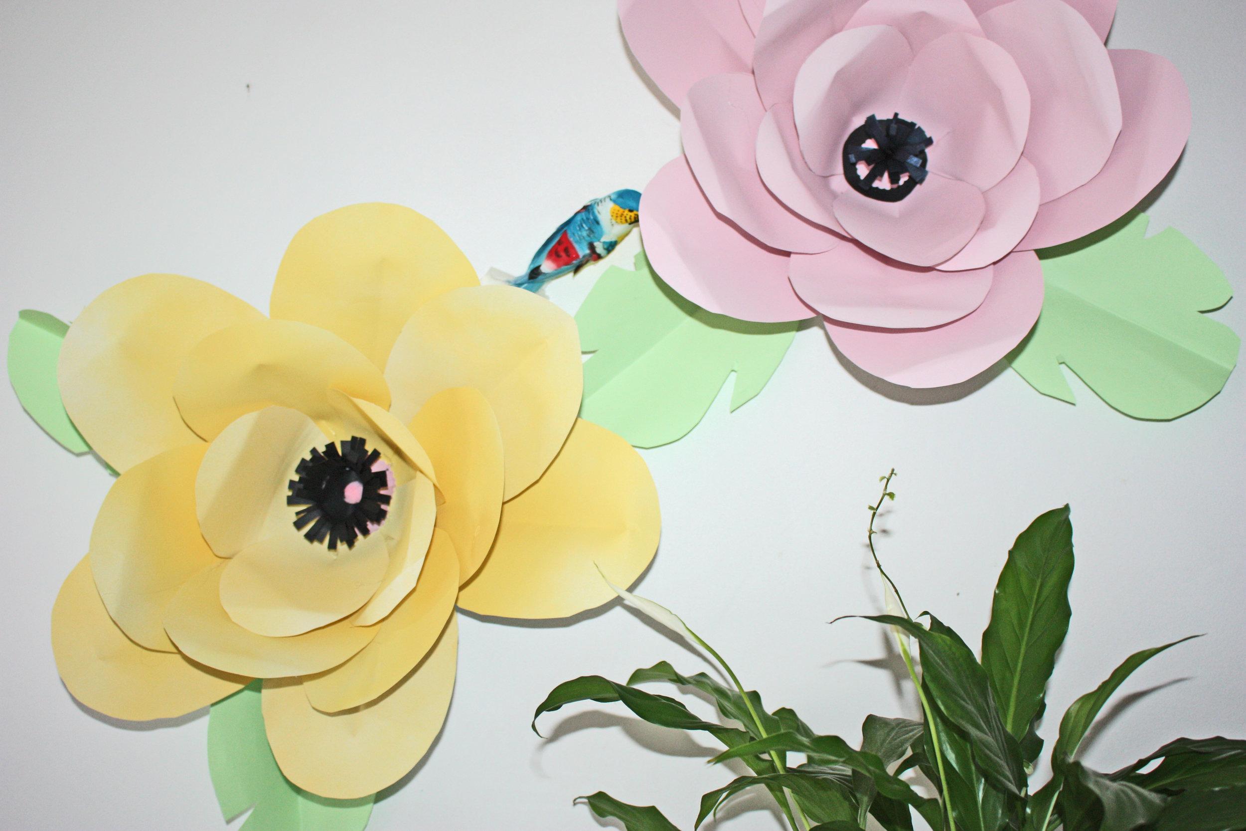 Fabriquer Des Fleurs En Papier Géantes Oui Are Makers
