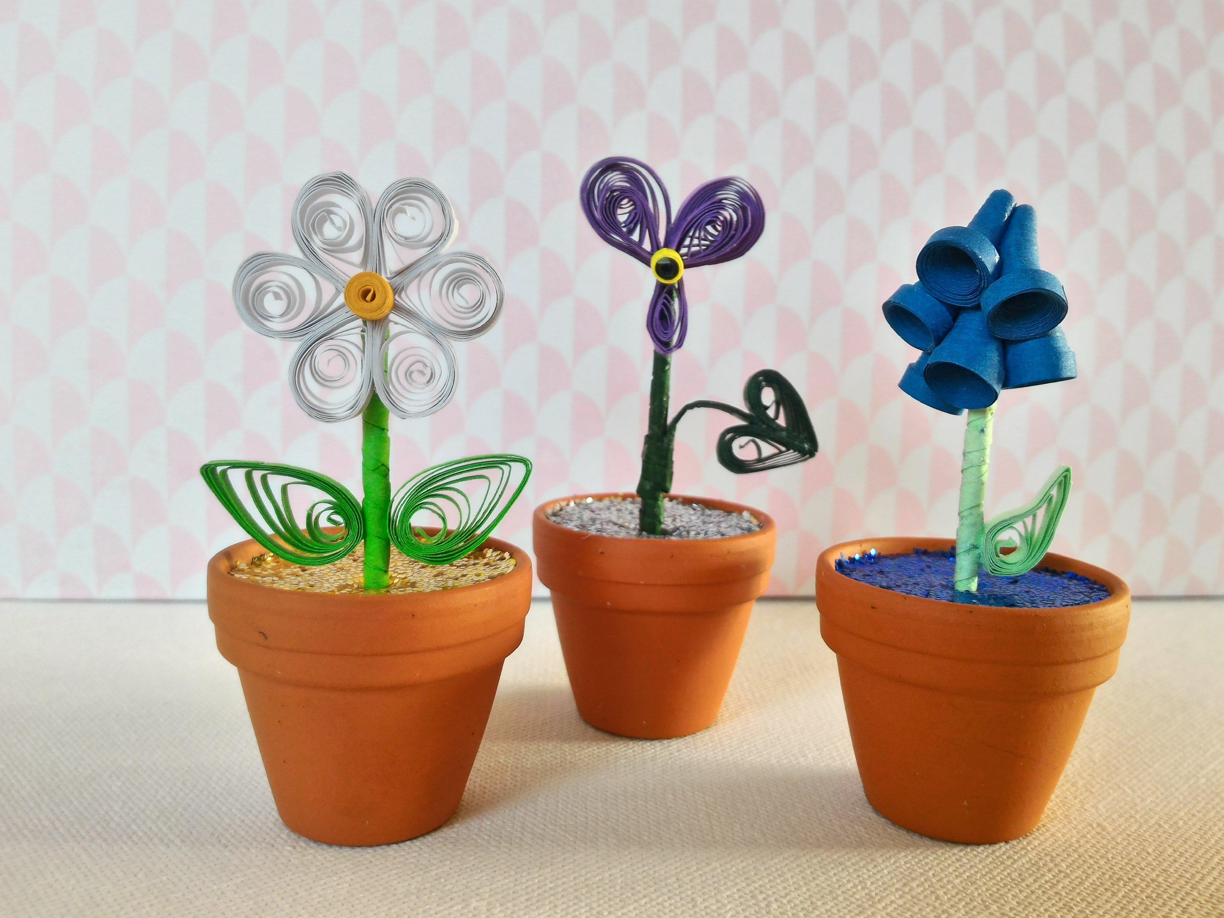 Fleurs En Papier Quilling Oui Are Makers Partageons Notre