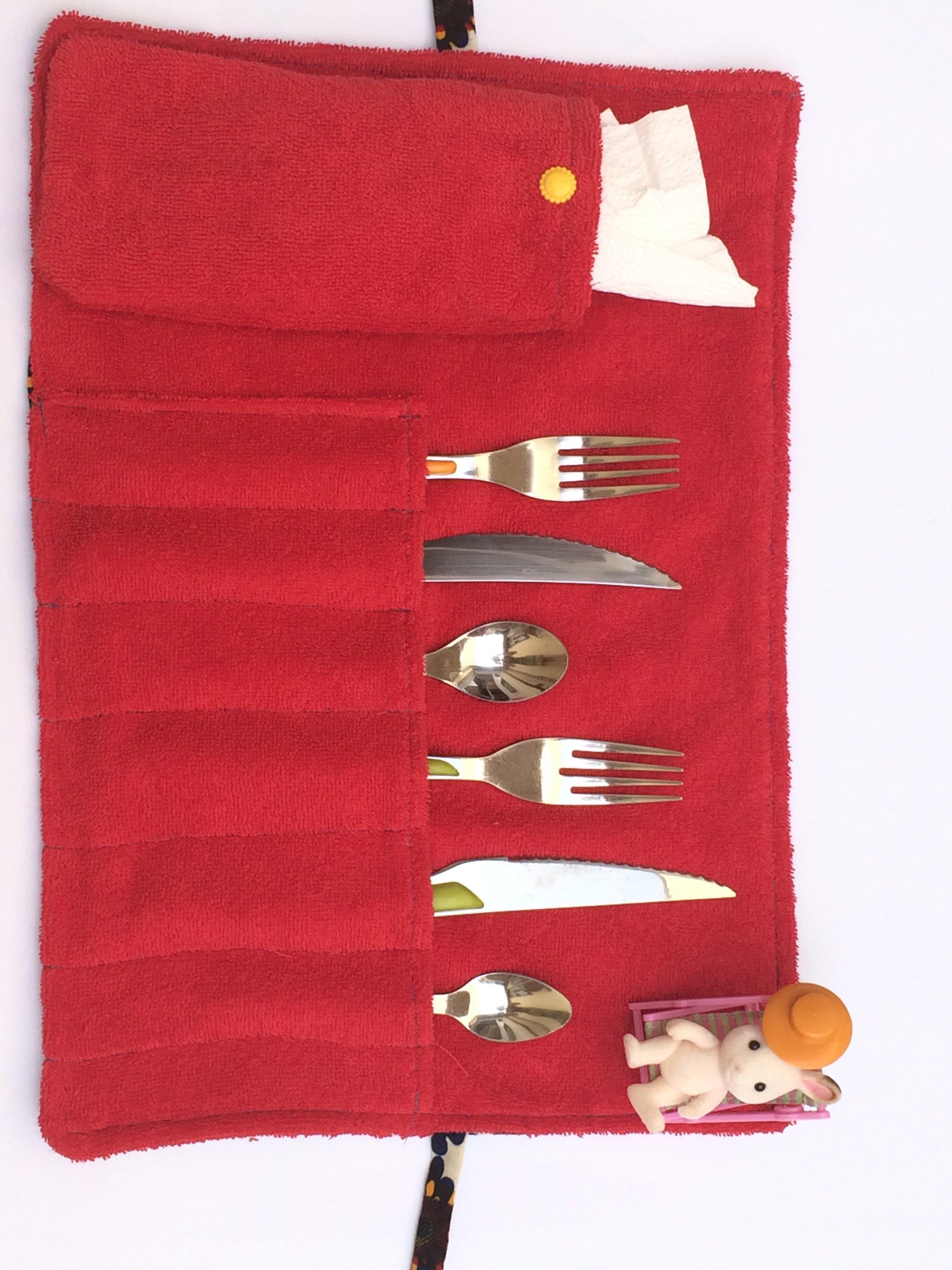 plusieurs couleurs personnalisé achat spécial Porte-couverts/set de table avec pochette | Oui Are Makers