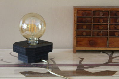 Lampe DIY découpe laser