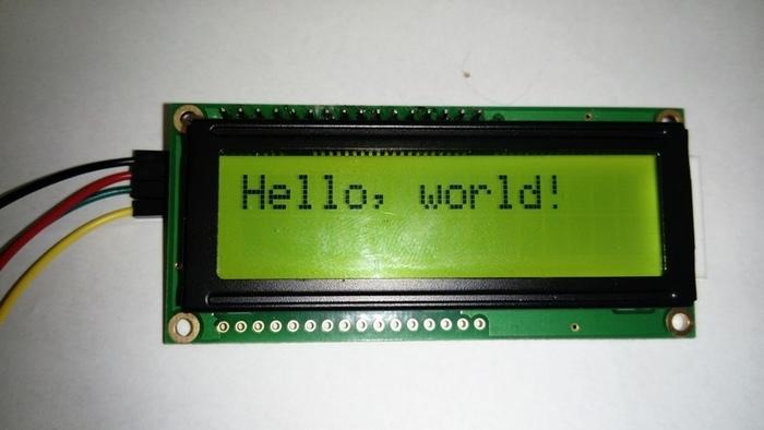 Connecter un écran LCD en I2C | Oui Are Makers | Partageons notre