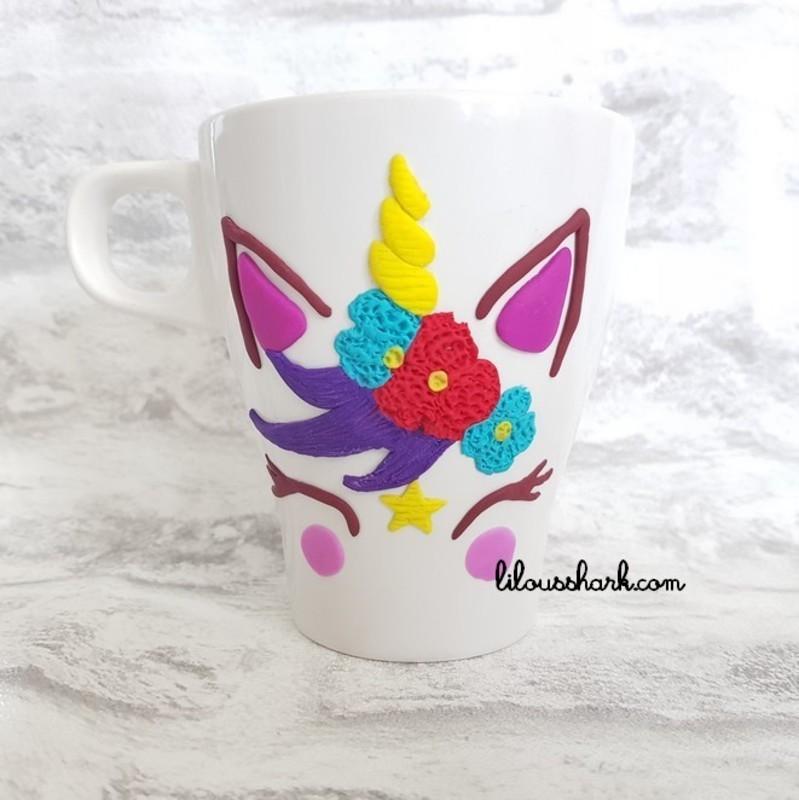 Mon Mug Licorne En Fimo Variantes Oui Are Makers Partageons