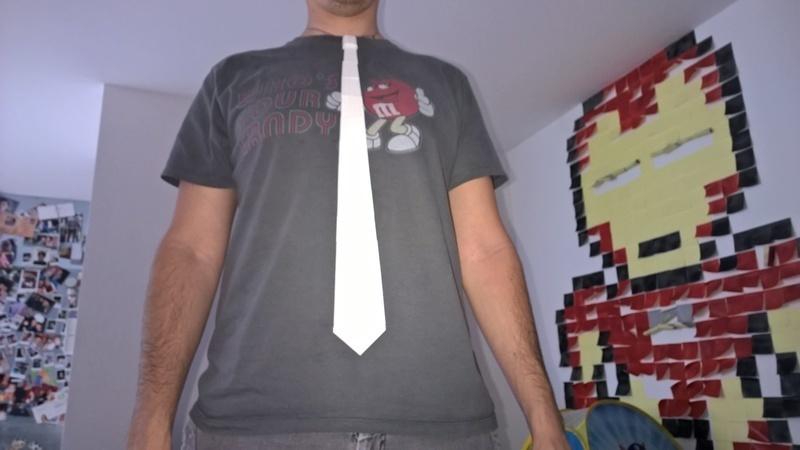 faire une cravate imprim e en 3d oui are makers. Black Bedroom Furniture Sets. Home Design Ideas