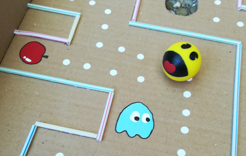 Jeu Pac Man Version Labyrinthe Geant Oui Are Makers