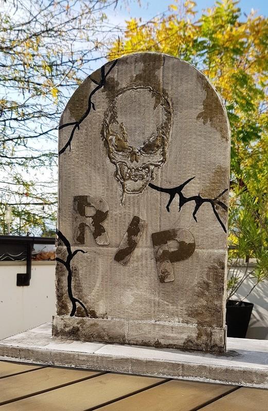 Pierre Tombale Halloween Oui Are Makers Partageons Notre Créativité