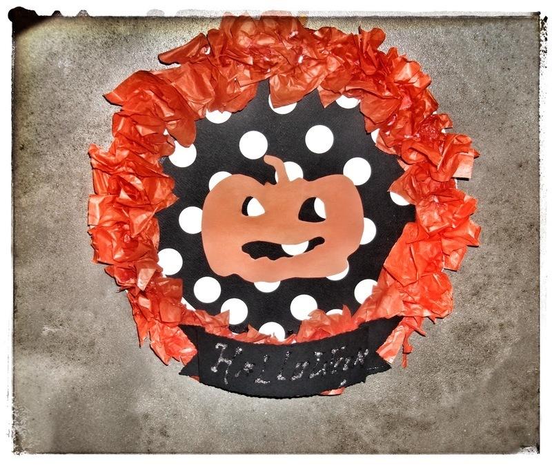 Couronne De Porte Halloween Oui Are Makers Partageons Notre