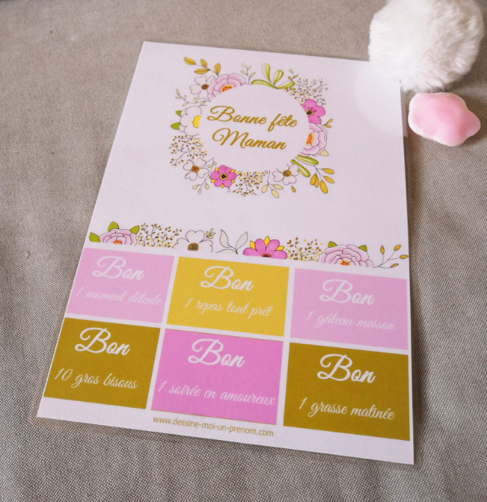 Bons à Imprimer Et Offrir à Maman Fête De Oui Are Makers