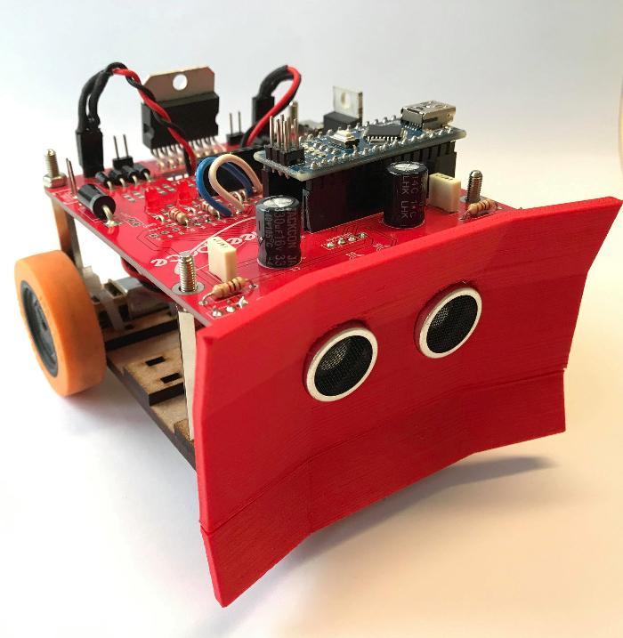 Construisez votre robot Sumobot | Oui Are Makers