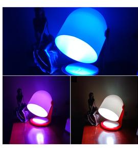 Lampe de chevet ambiances colorées DIY