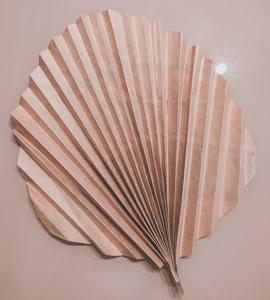 Feuille de palmier avec sac de récup