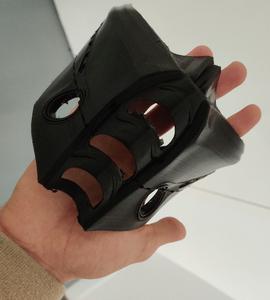 Modélisation 3D du masque LED