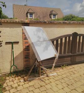 Héliostat - Lumière et Chauffage solaire par miroir suiveur