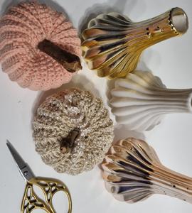 Citrouille crochetée
